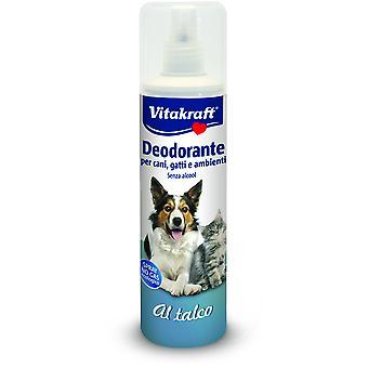 Vitakraft Spray déodorant pour chien et chat avec poudre de talc