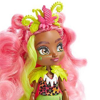 Cave Club Fernessa Fashion Doll and Ptilly Pet Dinosaur