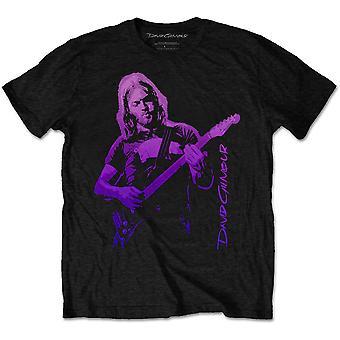 David Gilmour - Pig Gradient Men's Large T-Shirt - Black