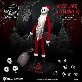 Painajainen ennen joulua Dynaaminen 8ction Heroes Toimintahahmo 1/9 Santa Jack Skellington 21 cm
