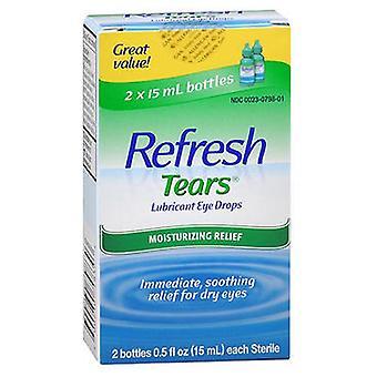 Refresh Refresh Tears Lubricant Eye Drops, 2 x 15 ml