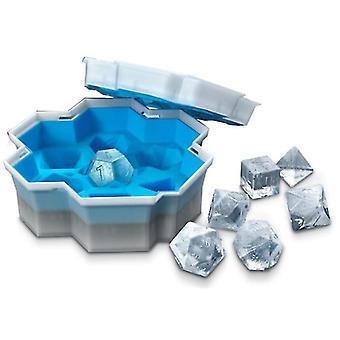 Dice Cube Ice Tray vormige ice cube schimmel food grade flexibele siliconen ijs mallen voor whiskey cocktail