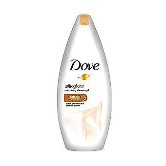 Dove Silk Glow Nourishing Body Wash, 16.9 Ounce / 500 Ml (Pack of 6)