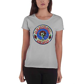 Grateful Dead T Shirt Bertha Circle Vintage Wash new Official Womens Skinny Fit