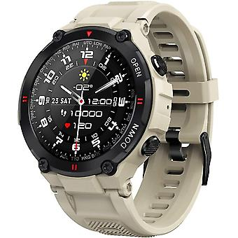 montre intelligente Hommes, montre intelligente étanche IP68 Smart Watch Trackers d'activité Bluetooth avec GPS