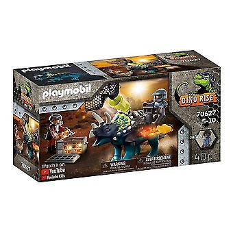 Playset Dino Rise Triceratops Playmobil 70627 (40 pcs)