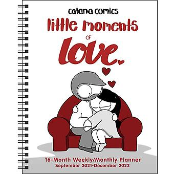 Catana Comics Little Moments of Love 16Month 20212022 MonthlyWeekly Planner by Catana Chetwynd