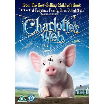 Charlottes Web DVD (2007) Dakota Fanning Winick (DIR) cert U NEW Region 2