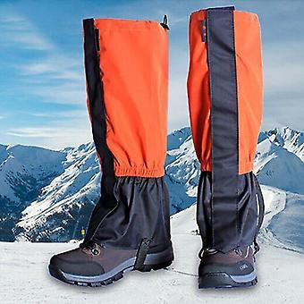 Tuulenpitävä vedenpitävä legging kävelyjalka kansi camping vaellus suksi saapas matkakenkä lumi metsästää kiipeily kävely