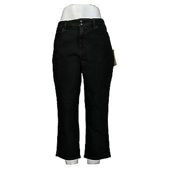 NYDJ Kvinners Jeans Cool Embrace Skinny Crop - Nautilus Black A377694