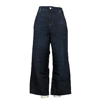 Laurie Felt Women's Jeans Regular Daisy Denim Wide Leg Crop Blue A376459