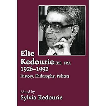 Elie Kedourie, E, Fba 1926-1992