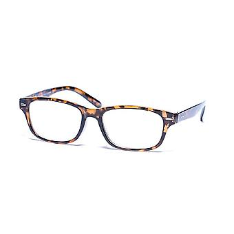"""""""The Intellect"""" Fashion Reading Glasses - Hard Case/Cleaning Cloth Included - Tortoise - 3.00"""