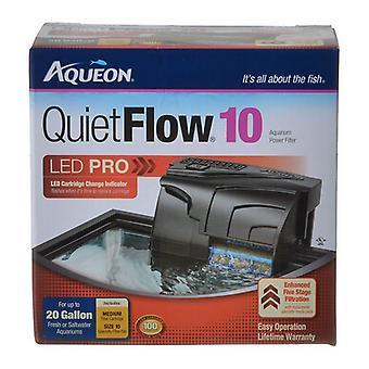 Aqueon QuietFlow LED Pro Power Filter - QuietFlow 10 (Aquariums up to 10 Gallons)
