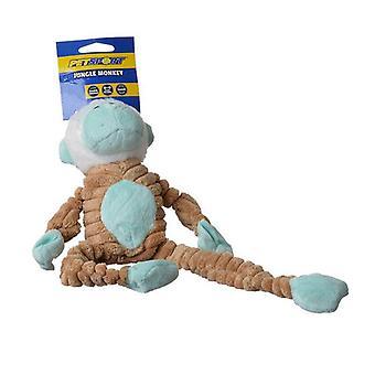 "PetSport Tuff Squeak Jungle Monkey Toy - 1 Pack - (14"" Long)"
