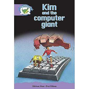 Lit Ed Storyworlds Stage 8, Fantasy World, Kim and the Computer Giant