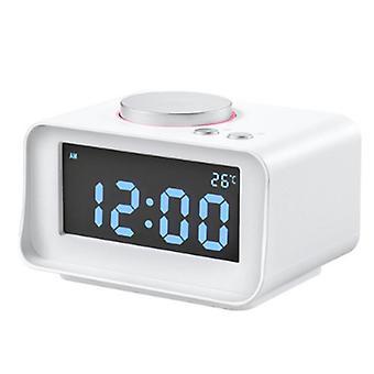 Multifunktionale kreative intelligente Wecker Stumme Mini Bett Seite Elektronische Digitalwecker Radio Geeignet