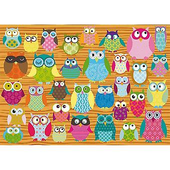 Jigsaw puzzles owls jigsaw puzzle 500-piece