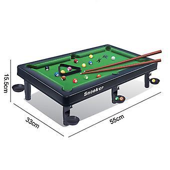 Mini Tabletop Pool Set, Billard Spiel