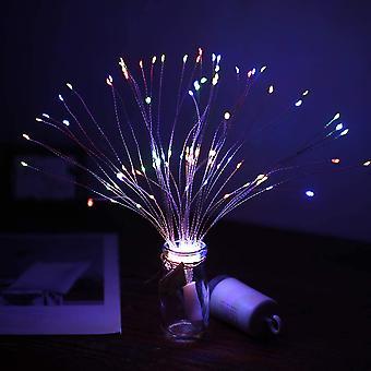 Led Kupferdraht Licht Feuerwerk Licht Weihnachten Explosion Licht Außendekoration Licht Fernbedienung Feuerwerk Licht, Ipl