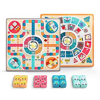 Multi Functional Children's  Puzzle  Boardgame
