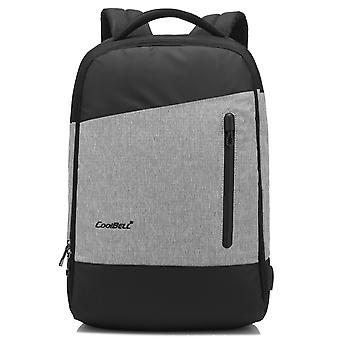 15.6 Inch Laptop Backpack With Usb Charging Port / Multi-compartment Travel Bag Rucksack
