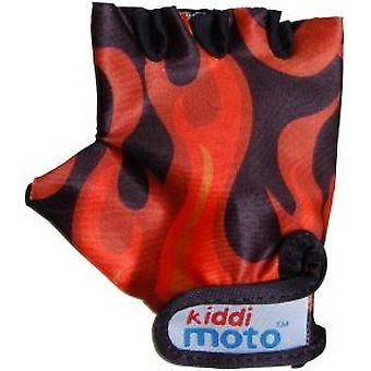Kiddimoto Cycling Gloves Flame