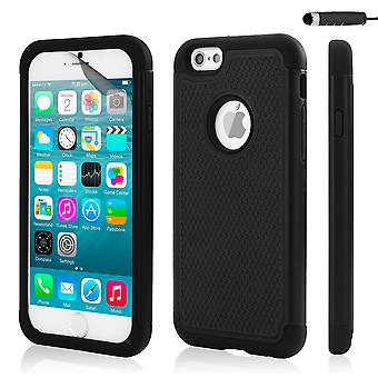 32nd Shockproof case for Apple iPhone 6 6S - Black