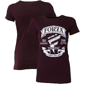 "Forza Sports Women's ""Origins"" MMA T-Shirt - Possibly Plum"