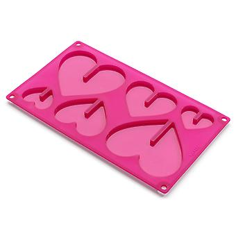 Lekue 3D Silicone Heart Shape Chocolate Mould