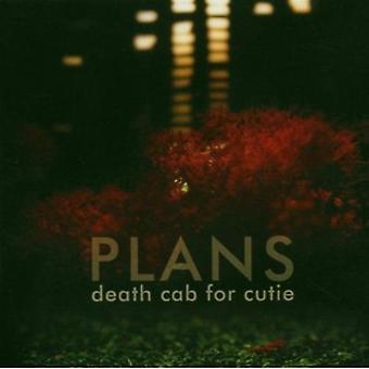 Death Cab for Cutie - Plans [CD] USA import
