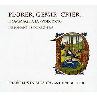 Early Music - Hommage   La Voix D'or De Johannes Ockeghem [CD] USA import