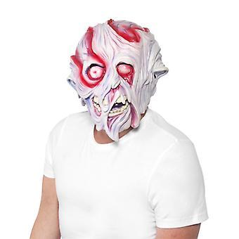 Creepy maska roztavený tvár Halloween roztavený tvár