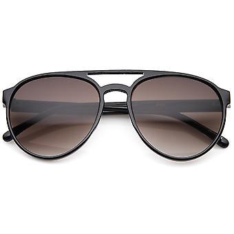 Thin Crafted Retro Plastic Aviator Sunglasses