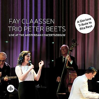 Fay Claassen - Live at the Amsterdam Concertgebouw [CD] USA import