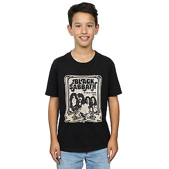 Black Sabbath Boys World Tour T-Shirt