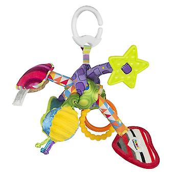 Lamaze Tug and Play Knot Clip On Pram and Pushchair Baby Toy