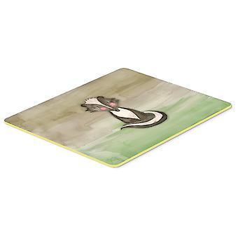 Carolines Treasures  BB7440CMT Badger Watercolor Kitchen or Bath Mat 20x30