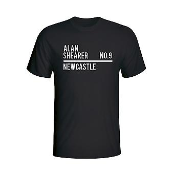 Alan Shearer Newcastle Squad T-shirt (black) - Kids