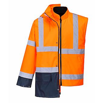 Portwest - Hi-Vis Safety Workwear Essential 5-in-1 Two Tone Jacket