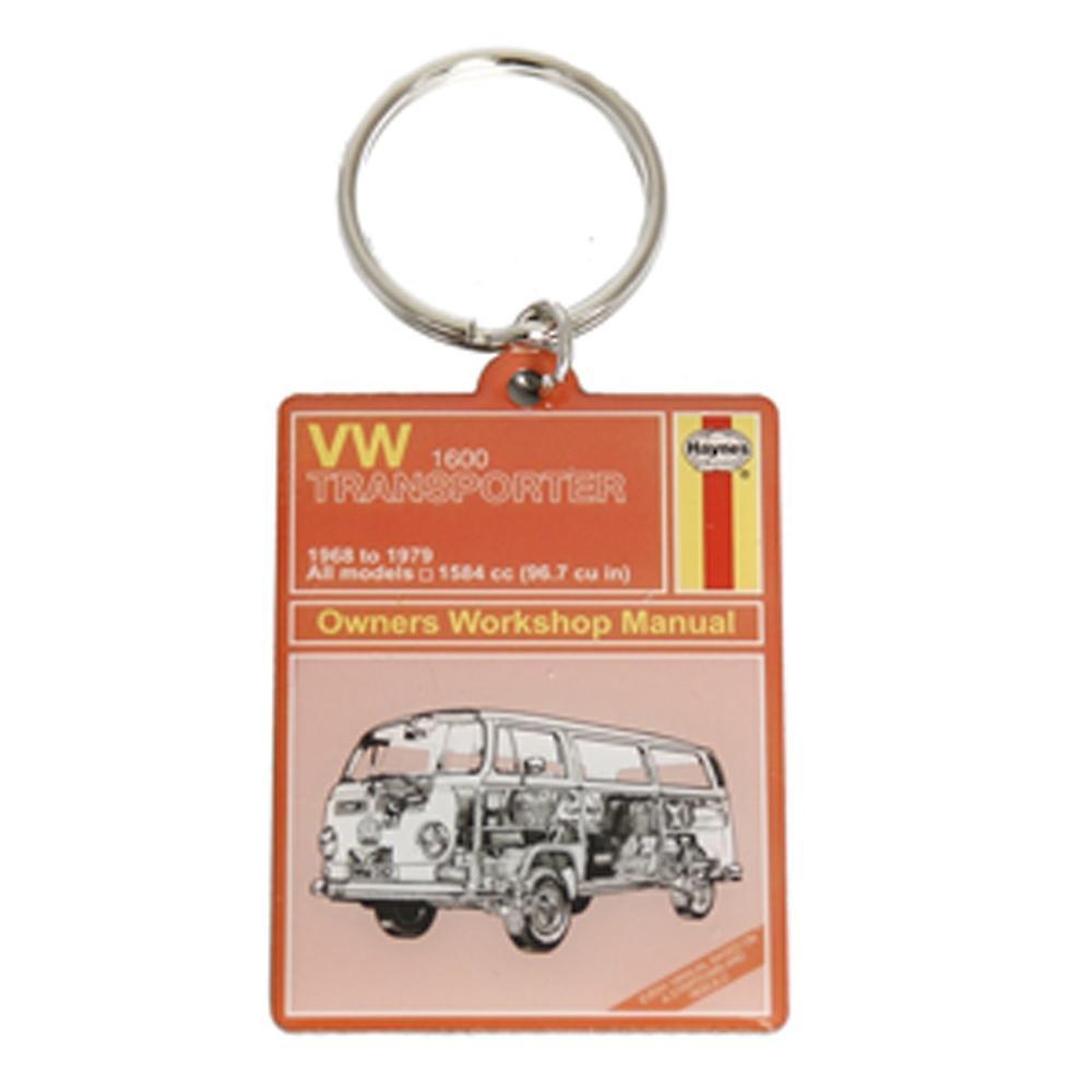Haynes VW Camper Van Metal Keyring