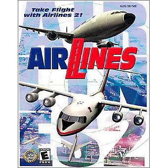 Airlines 2-Fabriksförseglat