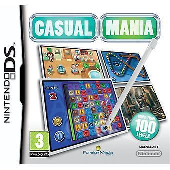 Mania Casual (Nintendo DS) - Novo