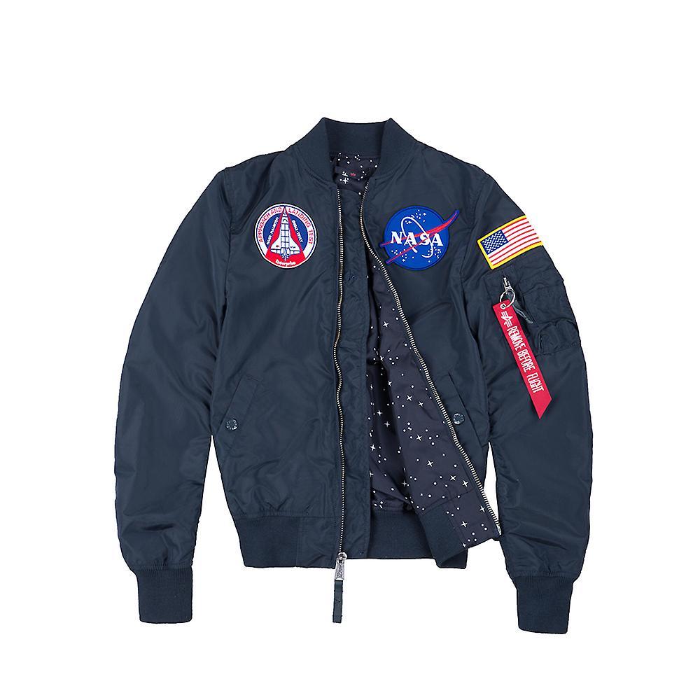 Wmn Ma Alpha Women's Nasa Industries Tt Reversible 1 Jacket Bomber gyb67f