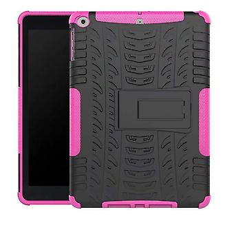 Hybrid outdoor protective cover case Pink for NEW Apple iPad 9.7 2017 bag