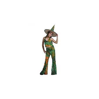 Costume de sorcière de costumes pour enfants pour les filles