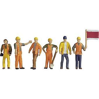 NOCH 15277 NOCH H0 15277 figuras - trabalhadores da faixa