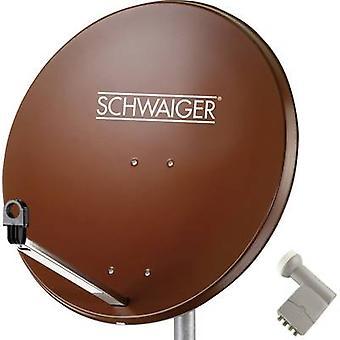 Schwaiger SPI9962SET9 System SAT z odbiornikiem nr. uczestników: 4 80 cm