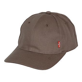 Levi's Classic Twill Kurve Cap ~ Red Tab grau
