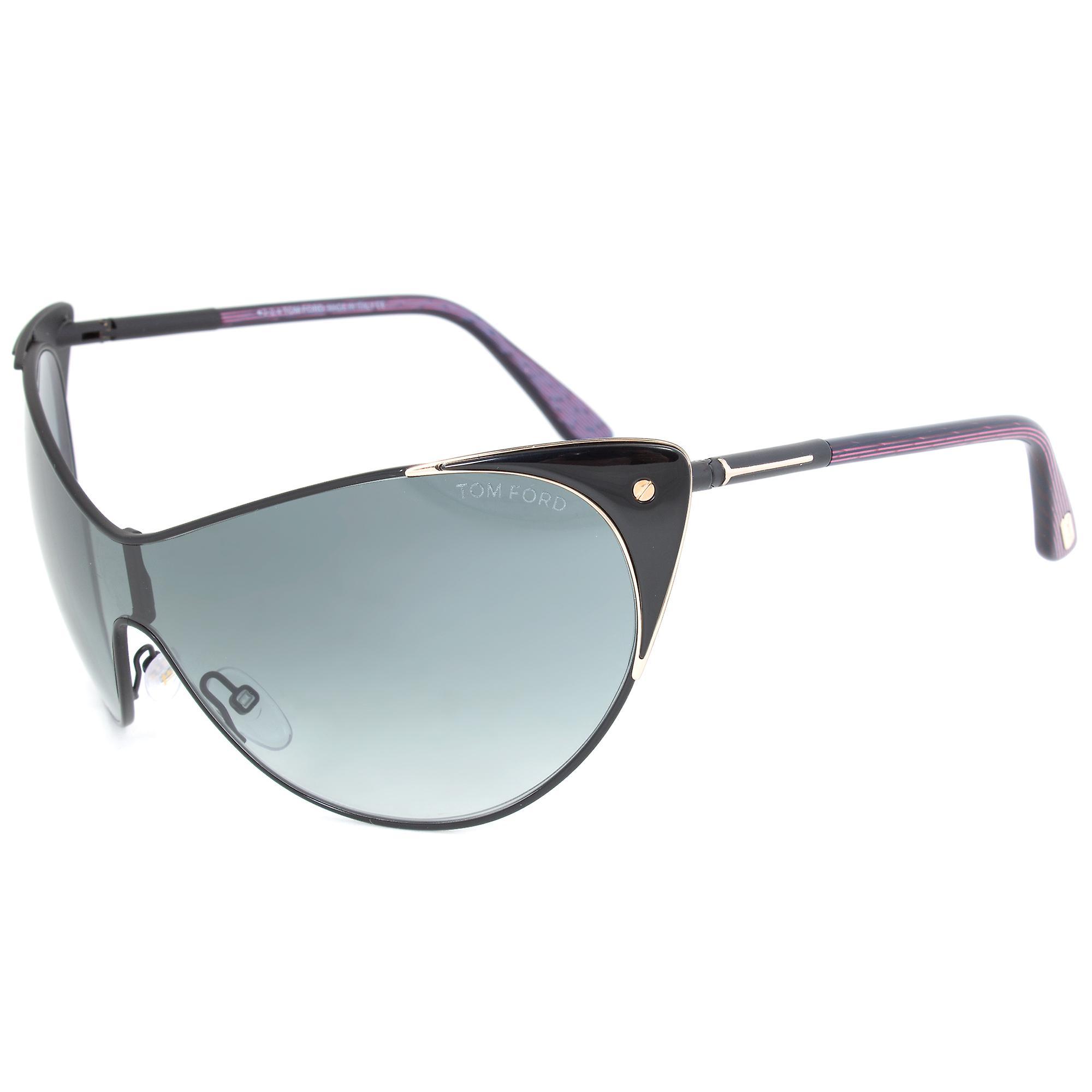Tom Ford Vanda Sunglasses FT0364 01B   Black Frame   Grey Gradient Lens